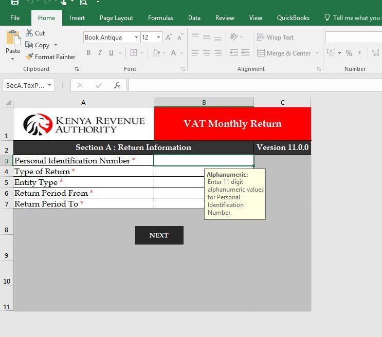 iTAX VAT Utility Standard Version
